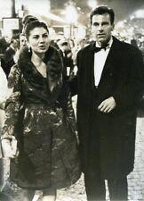 PHOTO MAXIMILIAN SCHELL et IMPERATRICE SORAYA en 1965 GALA CINEMA REX CLEOPATRE