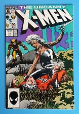Uncanny X-MEN #216 Storm Wolverine Barry Windsor-Smith Marvel Comics 1987
