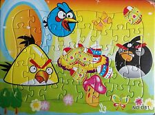 Cute 40 Pieces Jigsaw Puzzles Angry Birds Drawing Best Gift for Kids Girls - 03