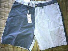 NEW MEN'S SOUTHERN TIDE TWO-TONE BLUE WALKING SHORTS SIZE 36--NWT