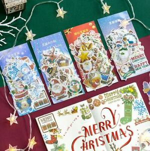 Decorative Christmas Craft, Journal Stickers-60 stickers