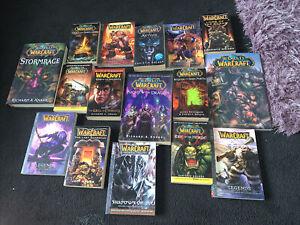 World of Warcraft Novels Softback And Hardback Lot