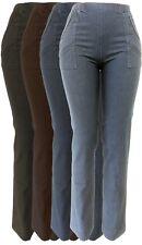 Stretch Jeanshose Damen Freizeithose Schluphose Gummizug-Hose Jeans 38 - 50-52