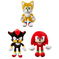 Sonic The Hedgehog Large Soft Plush Teddy Toys Figures