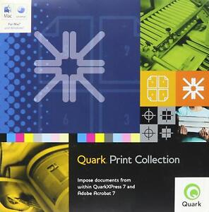 Quark Print Collection For Mac/Windows XP (Old Version) NEW FREE SHIPPING