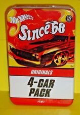 2008 HOT WHEELS SINCE '68 40TH ANNIV - 4 PACK - IN CELLOPHANE FROM FACTORY STILL