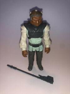 Nikto Skiff Guard Return of the Jedi Kenner Vintage Action Figure - Complete