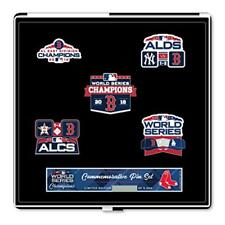 Boston Red Sox 2018 World Series Champions Commemorative Pin Set Limited Edition