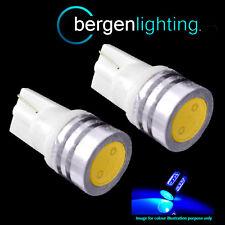 2x W5W T10 XENO 501 LED BLU AD ALTA POTENZA luci laterali SMD FANALI sl100706