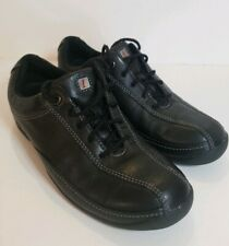 Privo by Clarks Black Leather Lace Up Comfort Shoes 7 1/2M