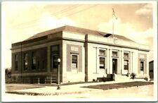 "WINNER, South Dakota RPPC Real Photo Postcard ""POST OFFICE"" Street View 1944"