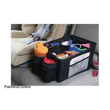 Car Travel Organiser Back Seat Storage Tidy Kids Toy Book Cargo Bin Drink Holder