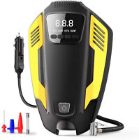 12V 150PSI Portable Car Air Compressor Pump,Digital Tire Inflator with LED Light