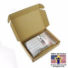 100value 500pcs 1W Metal Film Resistor +/-1% Assortment Kit US Seller KITB0158