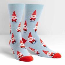 Sock It To Me Men's Crew Socks - Santa Gnome