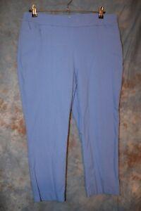 Blue Draper/'s /& Damon/'s Soft Suede-like Fabric Women/'s PantsSlacks Size Petite Medium