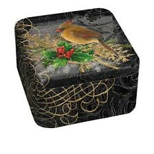 BIRDS & BERRIES 100% Soy Wax Scented Tin Candle, 13.5 oz, by LANG