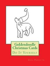 Goldendoodle Christmas Cards : Do It Yourself by Gail Forsyth (2015, Paperback)