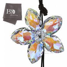 Colorful Crystal Prisms Suncatcher Flower Pendants Car Interior Decor Hang Gift