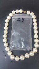 """South Sea Shell Pearl  Approx 14 MM  18"""" Necklace Beautiful Timeless White #5"""