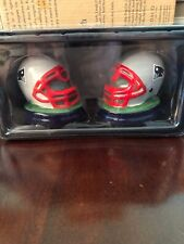 NFL New England Patriots Football Helmet Salt & Pepper Shakers - NEW