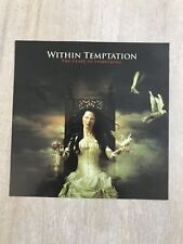 Within Temptation The Heart Of Everything Promo Sticker Roadrunner Metal