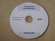 Chrysler 300c limousine kombi hemi motor getriebe Reperatur Werkstatt Handbuch