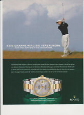 Original Werbung Charles Howell III for ROLEX