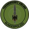 Aufkleber Polizei Personenschutz Ausland Polizei 8 cm Sticker Tuning