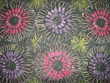 "Harlequin Scion Curtain Fabric Design ""aloha"" 2 Metres Raspberry 100 Cotton"