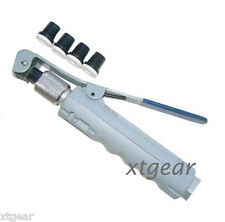 "New Air Sandblaster Gun w/ 4 Nozzles Tips Sand Blaster Tools Air Intel 1/4"" NPT"
