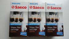 3 x ORIGINAL  SAECO  Wasserfilter  INTENZA + von  BRITA  Nr. CA 6702/00