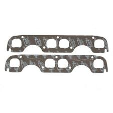 Mr Gasket Exhaust Manifold Gasket Set 5906; Ultra-Seal Graphite for Chevy SBC