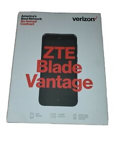Verizon Wireless ZTE Blade Vantage 16GB Preapid 4G LTE Android Smartphone New