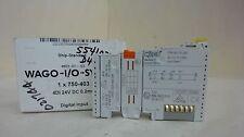 WAGO 750-403 I/O SYSTEM, 24 V DC, 0.2 MS, 4 DI