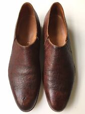 JOHN LOBB St. James 'Bespoke' Ostrich Loafer Tuczek Wholecut UK 6 (US 7) $7000 *