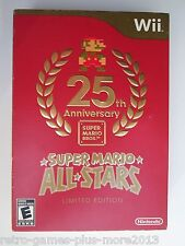 Super Mario All-Stars: Limited Edition (Nintendo Wii, 2010) Used--Tested (NTSC)
