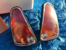03+ Mini Cooper Tail Lights Lamps OEM TAILLIGHT LIGHT LENS LENSES RED AMBER SIDE