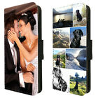 Personalised Flip Wallet Phone Case Cover Custom Printed Photo Picture Collage