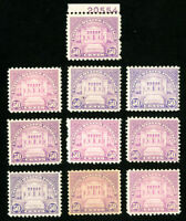 US Stamps # 701 F-VF OG NH P.O. Fresh Lot of 10 Scott Value $500.00