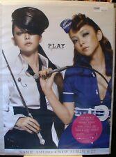 Namie AMURO Japan Promo Poster PLAY cosplay 2007 CD advert FREE Shipping