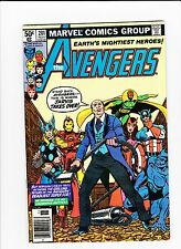 The Avengers #201 (Nov 1980, Marvel), VG, Very Good, Jarvis, Iron Man, Thor..*