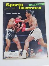 Sports Illustrated Magazine- June 7, 1965- The Fight You Didn't See Boxing