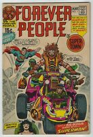 Forever People #1 (1971, DC) 1st Full App Darkseid, Jack Kirby, VG/VG+