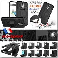 Etui Coque Housse Dual layer Shockproof Heavy Duty Case LG XIAOMI XPERIA . . .