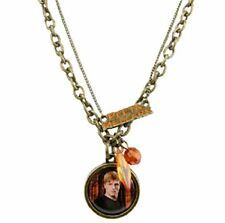 Hunger Games Catching Fire Peeta Mellark Double Chain Necklace Pendant Katniss
