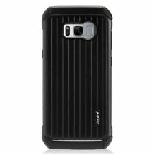 Carry On Hard Dual Layer Plastic Case For Samsung Galaxy S8 Plus - Black