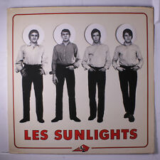 SUNLIGHTS: Les Sunlights LP (France, die-cut cover w/ inner pages, sl cw, corne