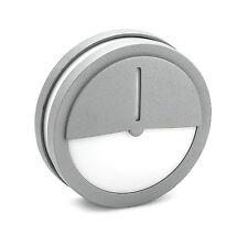Aplique/ plafon exterior aluminio gris