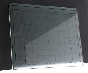 Sinar 8x10 Ground Glass Original